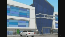 The concept for a proposed medical centre in South Windsor.