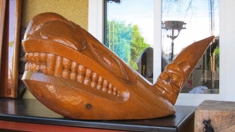 Wood orca
