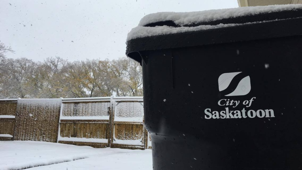 City of Saskatoon garbage collection
