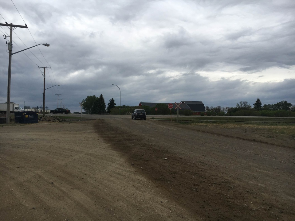 Canadian Pacific Railway has asked the City of Weyburn to close a high-collision intersection in the community. (JAMIE FISCHER/CTV REGINA)