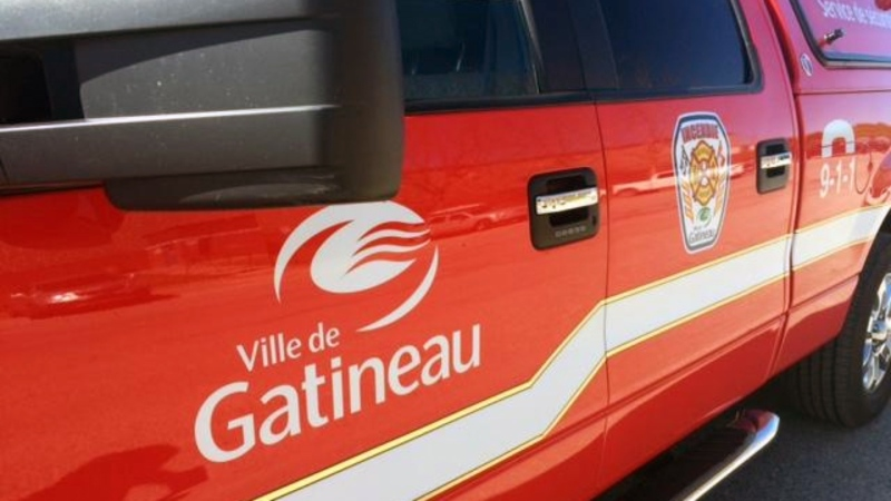 Gatineau Fire Service vehicle. (File Photo)