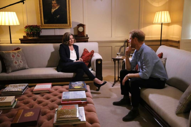 Lisa LaFlamme interviews Prince Harry