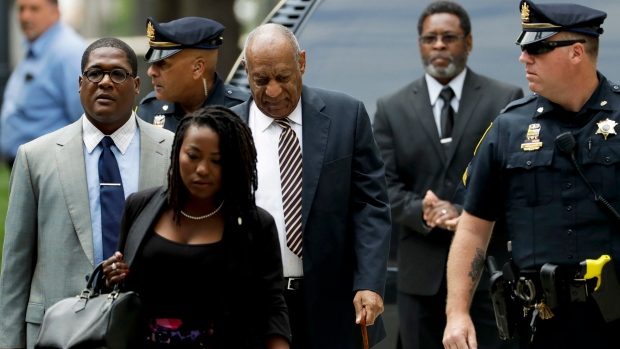 Amid criminal case, Cosby fighting lawsuits by 10 women