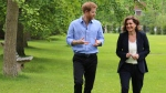 Journey to Invictus: Behind the scenes of CTV National News Chief Anchor and Senior Editor Lisa LaFlamme's exclusive interview with Prince Harry. (Rosa Hwang / CTV News)<br><br>  Portions of the exclusive interview with Prince Harry will air on CTV National News on Wednesday. The full one-hour special Prince Harry: Journey to Invictus airs Friday night at 9 p.m. ET on CTV.