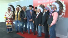 Tthe Chiefs of the Treaty 7 Nations are the 2017 Calgary Stampede Parade Marshals.