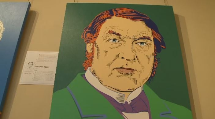 Artist Julio Ferrer painted prime ministers like Sir Charles Tupper for an exhibit commissioned in honour of Canada 150.