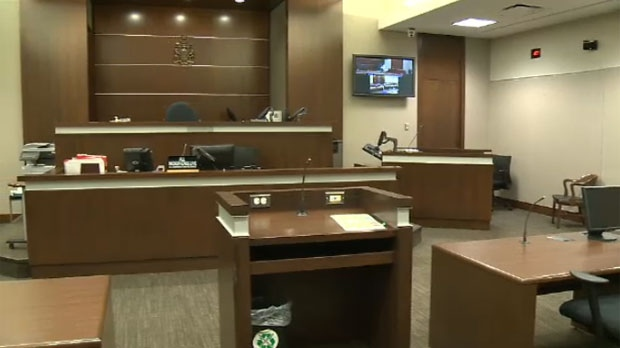 Calgary courtroom