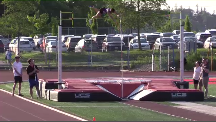 Pole vault was one of the many events featured at the 2017 Speed River Inferno at Alumni Stadium in Guelph.