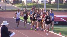 Men's 1,500 metre race