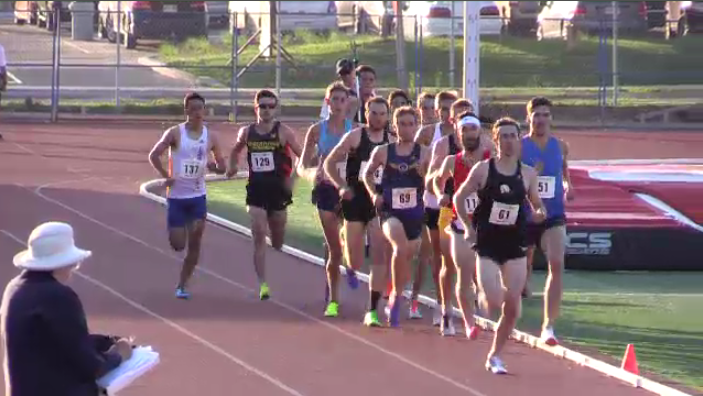 The men's 1,500 metre race at the 2017 Speed River Inferno in Guelph.