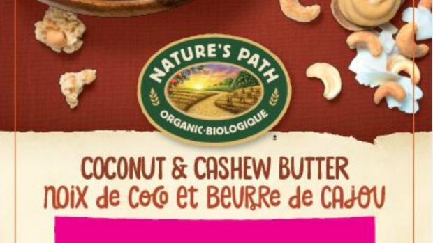 Nature's Path Coconut & Cashew Butter granola