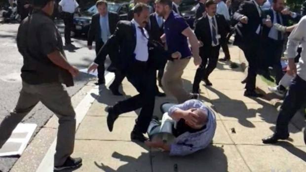 Turkey protests U.S. indictment charging Erdogan's security