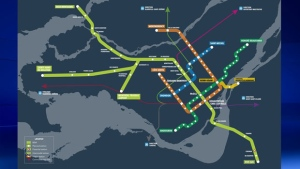 Montreal's light-rail line REM is expected to be up and running by 2020.