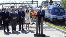 PM Trudeau light rail project