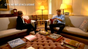 Prince Harry speaks with CTV News' Chief Anchor and Senior Editor Lisa LaFlamme. 'Prince Harry: Journey to Invictus' airs Friday night at 9 p.m. ET on CTV.