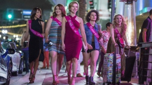 Scarlett Johansson, Kate McKinnon, Zoë Kravitz, Jillian Bell, Ilana Glazer in Rough Night © 2017 - Columbia Pictures
