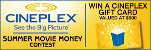 SUMMER MOVIE MONEY CONTEST