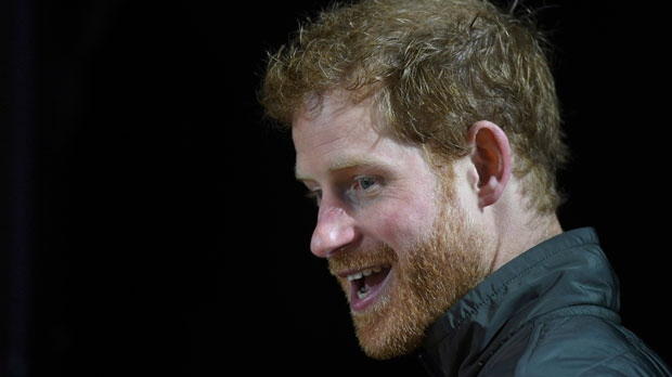 Britain's Prince Harry smiles as he watches some demonstration sports during the launch of the Invictus Games in Sydney, Wednesday, June 7, 2017. Prince Harry is in Sydney to launch the 2018 Invictus Games. (Dean Lewins/Pool Photo via AP)