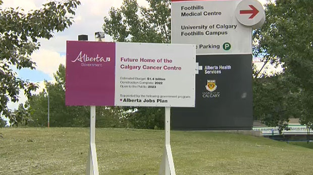 The Calgary Cancer Centre will be built in what is currently parking lot 7 at the Foothills Medical Centre.