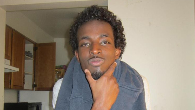 Abdullahi Nur-Abduelle, 22, is seen in an undated photo provided to CTV News by family. Supplied.