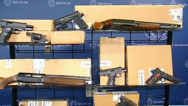 Guns, ammo, fentanyl seized in 'Project Kronic'   CTV News