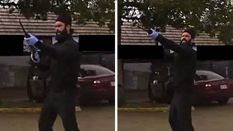 EPS released two photos of one suspect in the fatal shooting. Supplied.