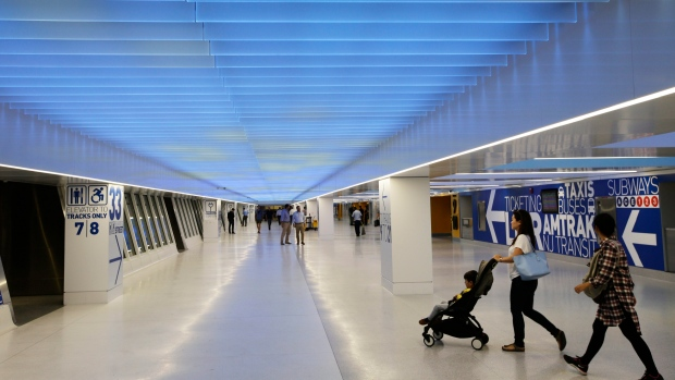 At troubled Penn Station, a glimpse of a brighter future