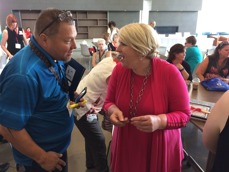 MPP Deb Matthews in London Ont. on June 16, 2017. (Bryan Bicknell/CTV)