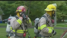 Double-hatter firefighters under fire