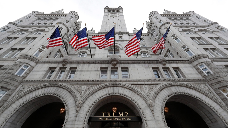 The Trump International Hotel in Washington is seen in this Dec. 21, 2016 file photo. (Alex Brandon/AP Photo)