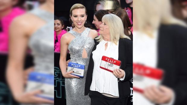 Scarlett Johansson and Geraldine Dodd