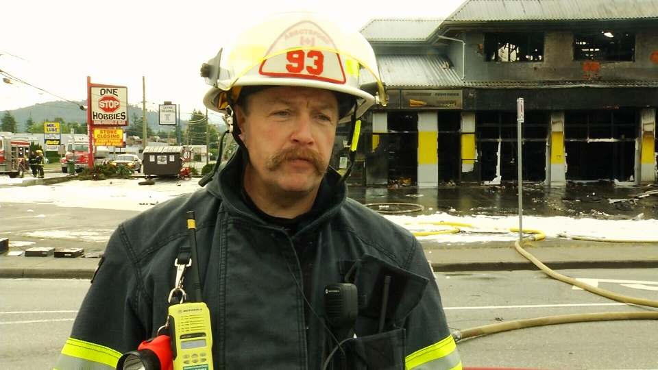 Assistant chief Craig Leighton told CTV his crews contained the fire to its building of origin. (CTV)