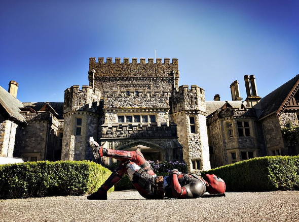 Ryan Reynolds Shares First Deadpool 2 Set Image