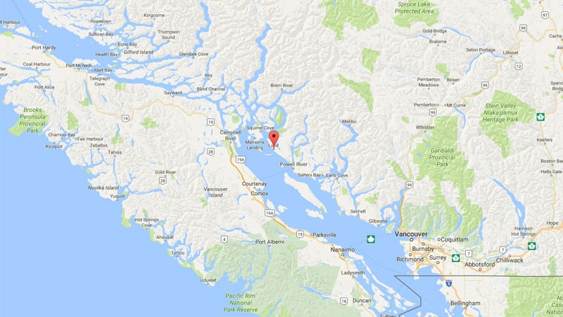 Police responded to an early morning double homicide in Lund, B.C., a harbour community along the Sunshine Coast with about 300 year-round residents. (Google Maps)