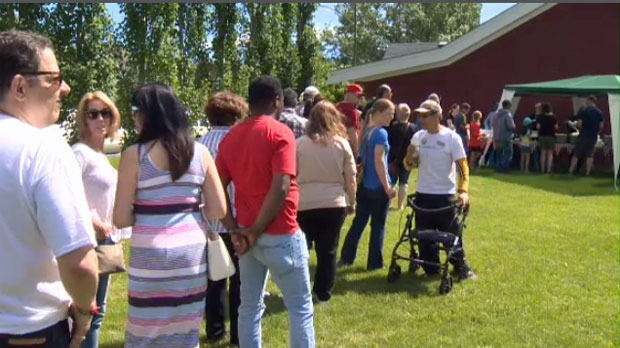 Sunalta's Neighbour Day event raised funds for residents displaced by a fire in early June