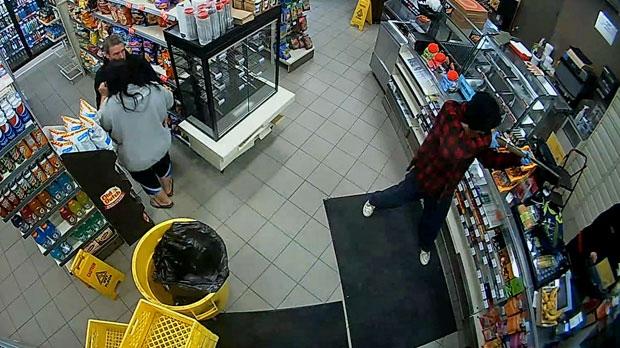 Armed robber - 7-Eleven Strathmore