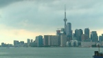 toronto, skyline, weather
