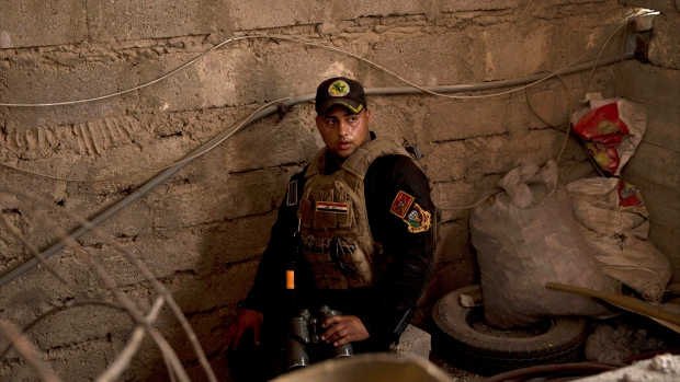 Iraqi special forces soldier