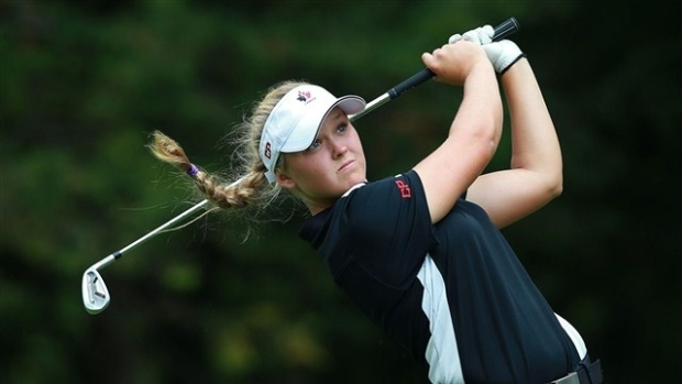 The 19-year-old won by two strokes at the LPGA Classic in Michigan Sunday.
