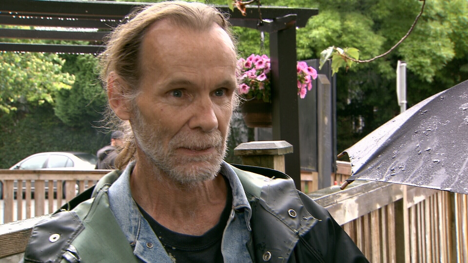 Dave Bush, a member of St. Augustine's Church in Marpole that was damaged by a fire Sunday, says he'll be lending elbow grease to repair the church. (CTV)