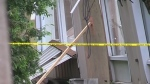CTV Barrie: Pool roof collapse