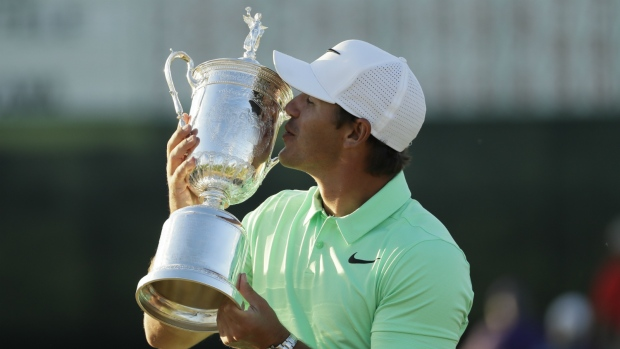 Brooks Koepka claims U.S. Open title win