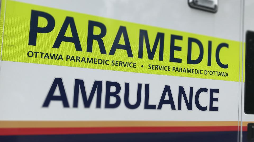 Ottawa Paramedics Ambulance