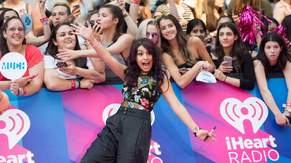 Alessia Cara arrives on the red carpet at the 2017 Much Music Video Awards in Toronto on Sunday, June 18, 2017. THE CANADIAN PRESS/Nathan Denette