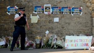 Memorial near Finsbury Park Tube Station