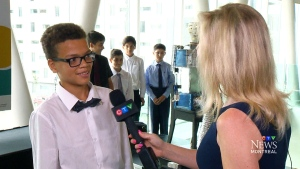 CTV Montreal: Students test robots