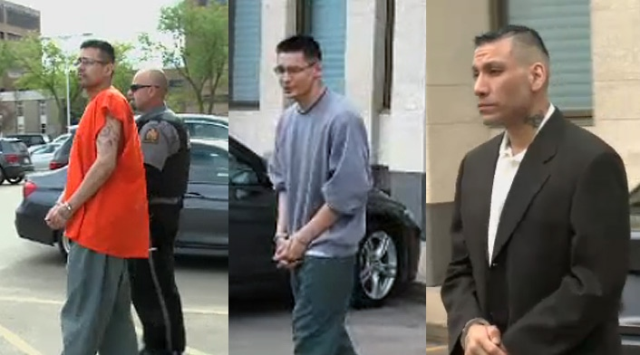 Joshua Wilson, Johnathon Peepeetch, and Dennis Thompson are accused of killing Shawn Douglas.