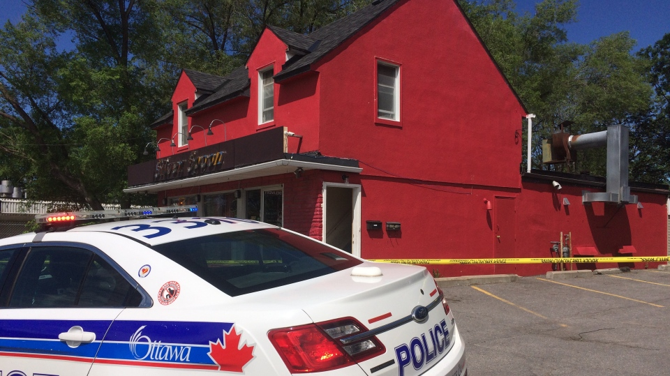 "Ottawa police cordon off the property around 1775 Carling Avenue, as detectives look for answers in what's being called a ""suspicious death"" investigation."