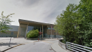 Burnaby Mountain Secondary School is seen in this undated Google Maps image.