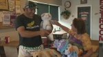 Family that lost pizza business pays it forward